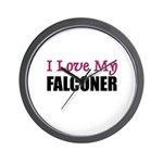 I Love My FALCONER Wall Clock