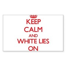 Keep Calm and White Lies ON Decal