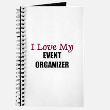 I Love My EVENT ORGANIZER Journal