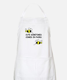 CUTE SOMETIMES COMES IN PAIRS BBQ Apron