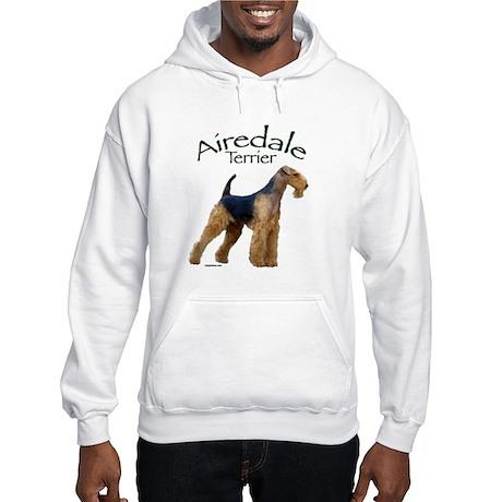 Airfedale Terrier-2 Hooded Sweatshirt