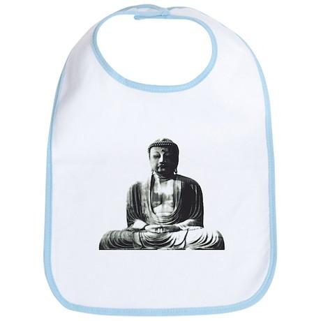 Retro Buddha Bib