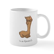 Sitting Brown Alpaca Mug
