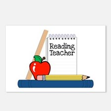 Reading Teacher (Notebook) Postcards (Package of 8