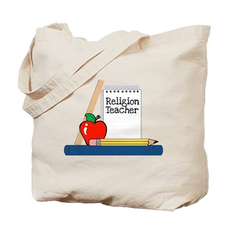 Religion Teacher (Notebook) Tote Bag