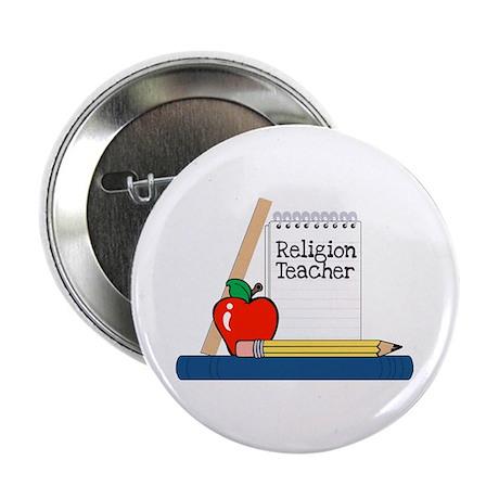 Religion Teacher (Notebook) Button