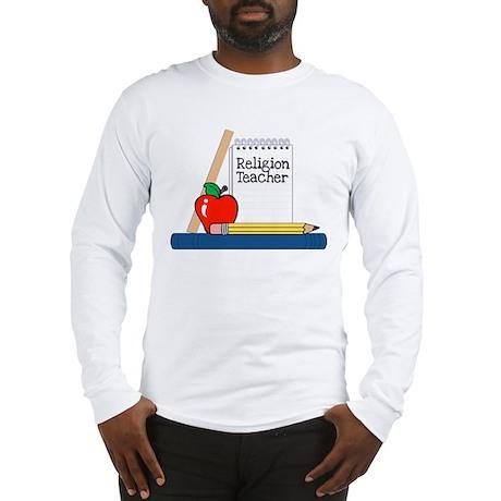 Religion Teacher (Notebook) Long Sleeve T-Shirt