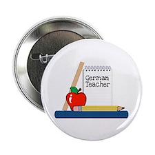 """German Teacher (Notebook) 2.25"""" Button (100 pack)"""
