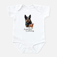Australian Cattle Dog Infant Bodysuit