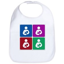 Pop Breastfeeding Icon Bib