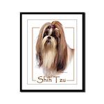 Shih Tzu-2 Framed Panel Print