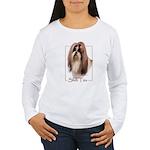 Shih Tzu-2 Women's Long Sleeve T-Shirt