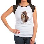 Shih Tzu-2 Women's Cap Sleeve T-Shirt