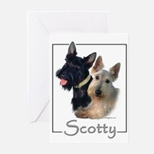 Scotty Greeting Cards (Pk of 10)