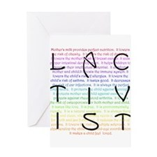 Lactivist Greeting Card