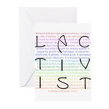 Lactivist Greeting Cards (Pk of 20)