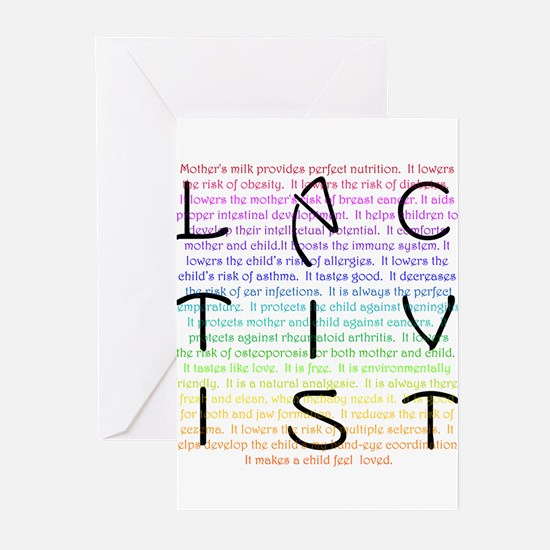 Lactivist Greeting Cards (Pk of 20)