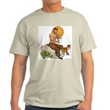 Satyr Playing Pan Pipes T-Shirt