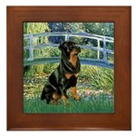 Bridge / Rottie Framed Tile