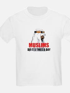 MUSLIMS DO IT T-Shirt