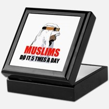 MUSLIMS DO IT Keepsake Box