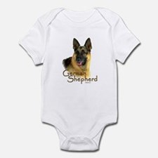 German Shepherd Dog-2 Infant Bodysuit