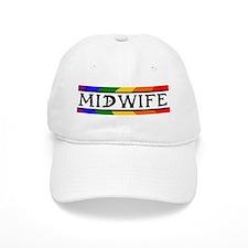 Rainbow Midwife Baseball Cap