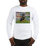 Lilies2/Rottweiler Long Sleeve T-Shirt