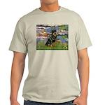 Lilies2/Rottweiler Light T-Shirt