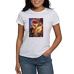 Mandolin Angel/Rottweiler Women's T-Shirt