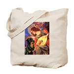 Mandolin Angel/Rottweiler Tote Bag