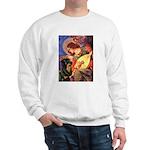 Mandolin Angel/Rottweiler Sweatshirt