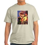 Mandolin Angel/Rottweiler Light T-Shirt