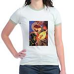 Mandolin Angel/Rottweiler Jr. Ringer T-Shirt