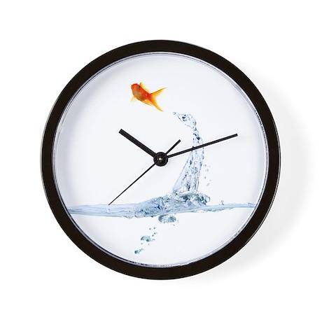 Fish wall clock by gotomass for Fish wall clock