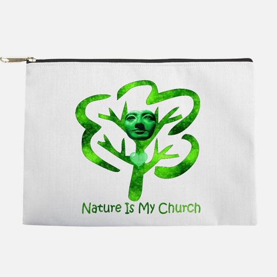 Nature Is My Church Makeup Pouch