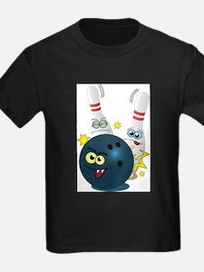 Bowling Ball and Pins T-Shirt
