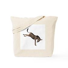 Kicking Donkey Tote Bag