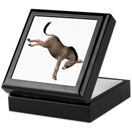 Kicking Donkey Keepsake Box