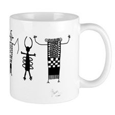 Group of Petroglyph Peoples Mug