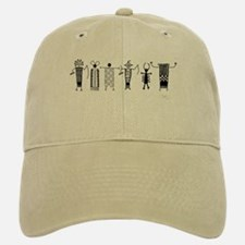 Group of Petroglyph Peoples Baseball Baseball Cap
