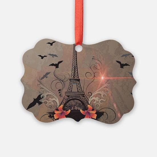 The Eiffel Tower Ornament