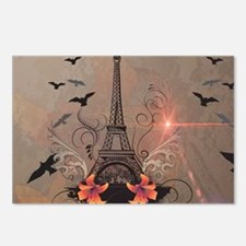 The Eiffel Tower Postcards (Package of 8)
