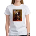 Lincoln's Rottweiler Women's T-Shirt