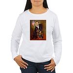 Lincoln's Rottweiler Women's Long Sleeve T-Shirt