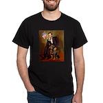 Lincoln's Rottweiler Dark T-Shirt