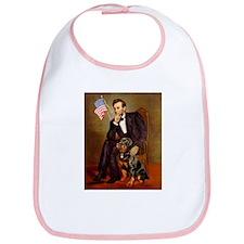 Lincoln's Rottweiler Bib