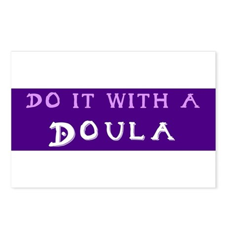 Do It With a Doula Postcards (Package of 8)