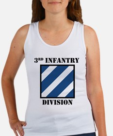 3rd Infantry Division W/Text Tank Top