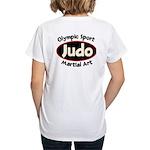 Judo Women's V-Neck T-Shirt